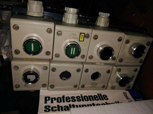 Klöckner Moeller Gehäuse 65x65 gebraucht für Taster Schalter Not-Aus