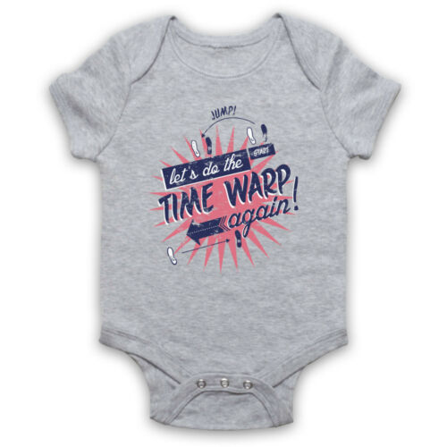 ROCKY HORROR PICTURE SHOW UNOFFICIAL TIME WARP MUSICAL BABY GROW BABYGROW GIFT
