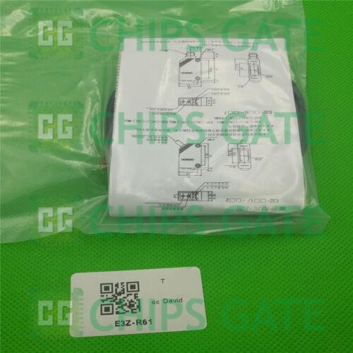 1PCS OMRON E3Z-R61 photoélectrique commutateur 12-24VDC E3ZR61 nouveau