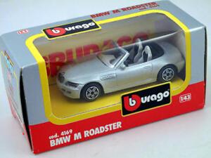 B-burago-4169-BMW-M-Roadster-1-43-Die-Cast-Made-in-Italy-modellismo-statico