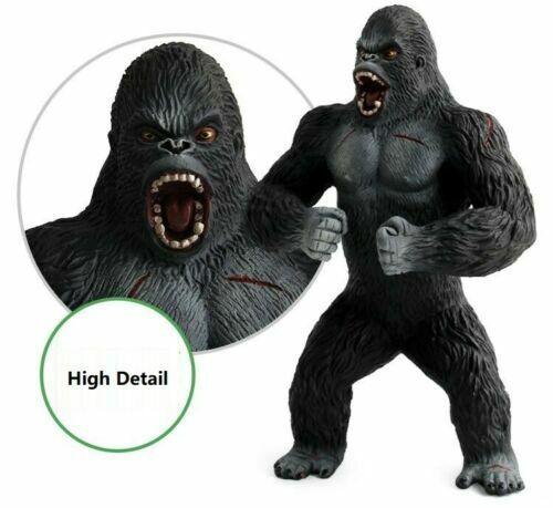 """7.5/"""" King Kong PVC Action Figure Jouet Cadeau Noir Gorille dans Skull Island Modèle"""