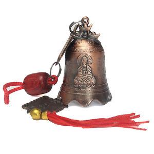 Excellent-China-039-s-Tibetan-Buddhism-Brass-Bell-Buddhist-Goddess-Temple-Feng-Shui