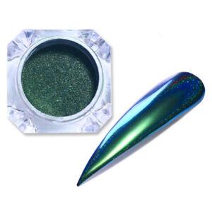 0-1g-Peacock-Holo-Chameleon-Nail-Art-Glitter-Mirror-Powder-Dust-Born-Pretty-01
