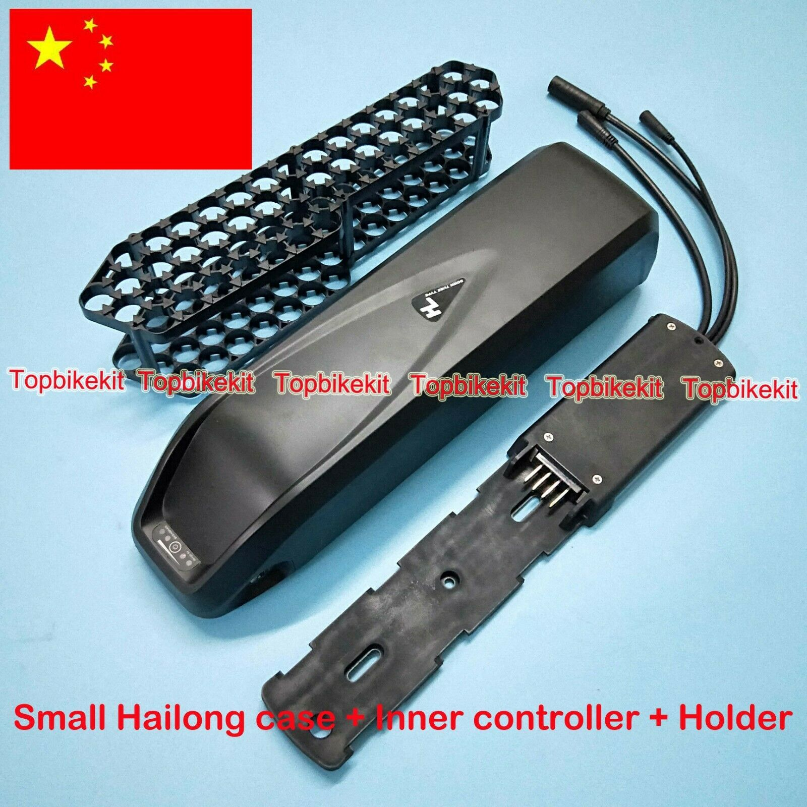 Hailong Battery case 52pcs 18650  Holder 36V 48V Inner Controller Ebike Parts