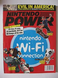 January-2006-NINTENDO-POWER-Magazine-Video-Games-Wi-Fi-Special-Iss-Resident-Evil