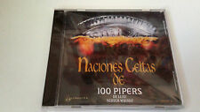 "CD ""NACIONES CELTAS DE 100 PIPERS DE LUXE 2"" CD 10 TRACKS COMO NUEVO CRISTINA"