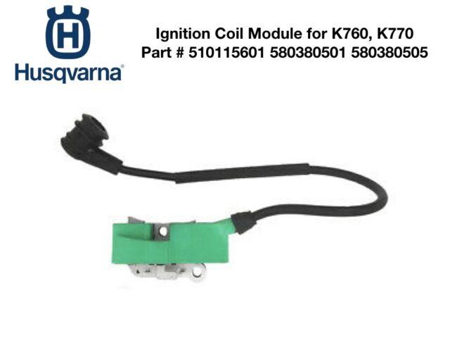 PARTNER HUSQVARNA K750 K760 OEM USED Ignition Coil Module Cut-Off Concrete Saw
