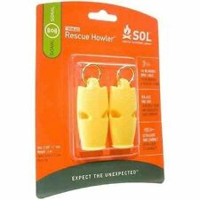 Adventure Medical Kits Fox 40 Rescue Howler Whistle (2 x Pack)