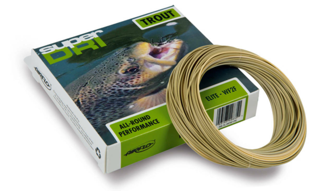 AIRFLO ELITE TROUT WF-5-F WT LICHEN GREEN WEIGHT FORWARD FLOATING FLY LINE