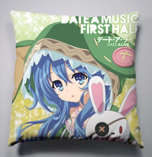 Neu DATE A LIVE Anime Kissen Sofakissen Dekokissen Pillow Cushion 40x40CM A2
