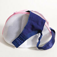 4 Pack Lot Washing Bag Cone Hosiery Bra Lingerie Mesh Bags Laundry Saver White