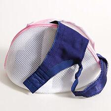 ~3 PACK LOT~ Washing Bag Cone Hosiery Bra Lingerie Mesh Bags Laundry Saver White