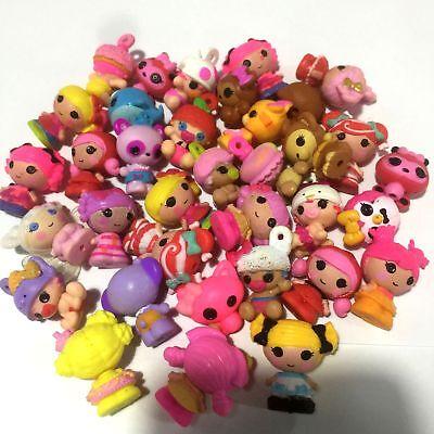 Random 10Pcs Cute Doll Cake Topper 1.5/'/' Mini Lalaloopsy Figure MGA Dolls