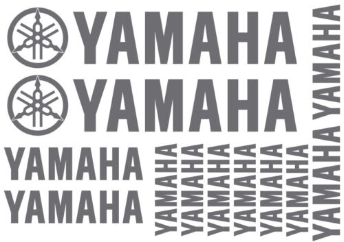 Outboard Decals for Bike Best Vinyl SET of YAMAHA Stickers Quad 18 Colours