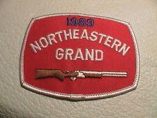 NORTHEASTERN 1989 CICERO NEW YORK GUN CLUB SKEET TRAP CLAY GUN HUNTING PATCH