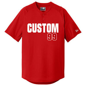 ed3353a7c Custom Baseball Jerseys / 2 Button Jersey / Youth and Adult Sizes ...