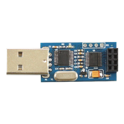CH340T USB to Serial Port Adapter Board for 2.4G NRF24L01 Wireless Module CK