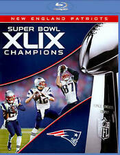 NEW ENGLAND PATRIOTS SUPER BOWL XLIX 49 CHAMPIONS New Sealed Blu-ray