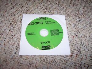 ford  truck shop service repair manual dvd xl xlt