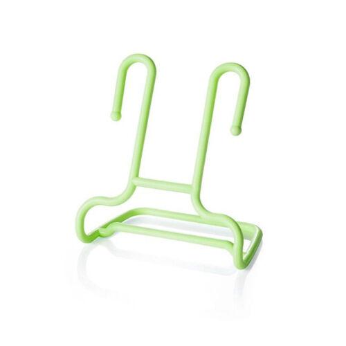 2Pcs//Set Space-saving Organizer Practical Hanging Shoes Rack Shoe Holder Stand