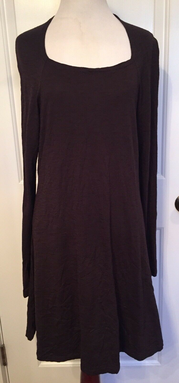 BANANA Blau AUSTRALIA Dress schwarz Lagenlook Tunic knee length Fit & Flare Large
