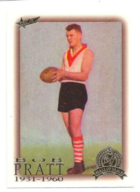 1996 Select Hall of Fame (42) Bob PRATT South Melbourne