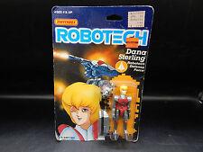 1985 vintage Matchbox ROBOTECH Dana Sterling MOC sealed Macross action figure !!