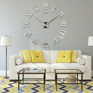 3D-DIY-Large-Number-Mirror-Wall-Clock-Sticker-Decor-for-Home-Office-Kids-Room-UK