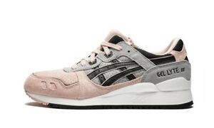 newest 543b9 0ad72 Details about Asics Gel-Lyte III Women's (Size 6.5) Pink/Mid-grey/Black