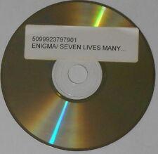 Enigma  Seven Lives Many Faces  U.S. test press promo cd