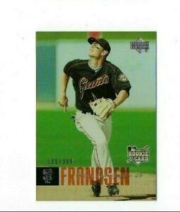 2006 UPPER DECK SILVER ROOKIE FOIL KEVIN FRANDSEN #977 BASEBALL CARD EX UD RC
