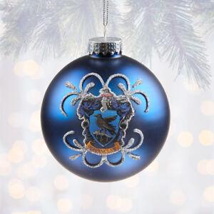 Harry Potter Christmas Ornaments Universal Studios.Details About Universal Studios Harry Potter Ravenclaw Ball Christmas Ornament Globe Glitter