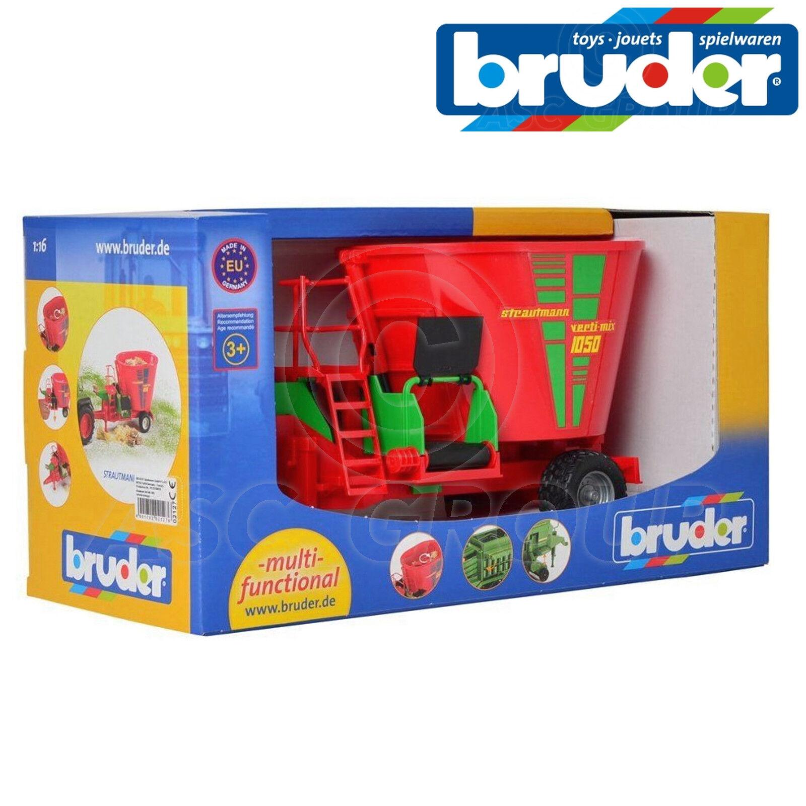 Bruder Toys Toys Toys 02127 Strautmann greeni-Mix 1050 Fodder Mixer 1 16 Scale b2fbe5