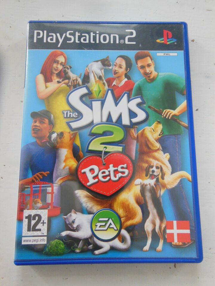 SIMS 2 Pets, PS2