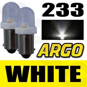 2-x-233-BA9S-T4W-Xenon-Led-Blanco-Bombillas-INTERMITENTE-LATERAL-TRIUMPH