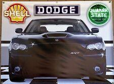 2010 DODGE CHARGER SRT NEW GARAGE SCENE BANNER SIGN GARAGE MURAL ART 4' X 3'