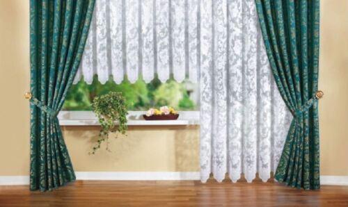 Dekogarnitur   Gardine  Vorhang H 245cm 2x  Breite 140cm   Pedrol Seitenschals