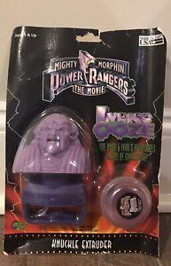Vintage 1995 Mighty Morphin Power Rangers Movie Ivan Ooze Knuckle Extruder