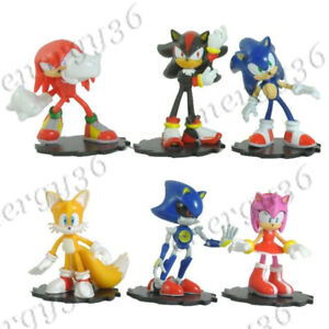 Sonic The Hedgehog Sonic Mini Figure Modern Collector S Set 6 Pcs Ebay