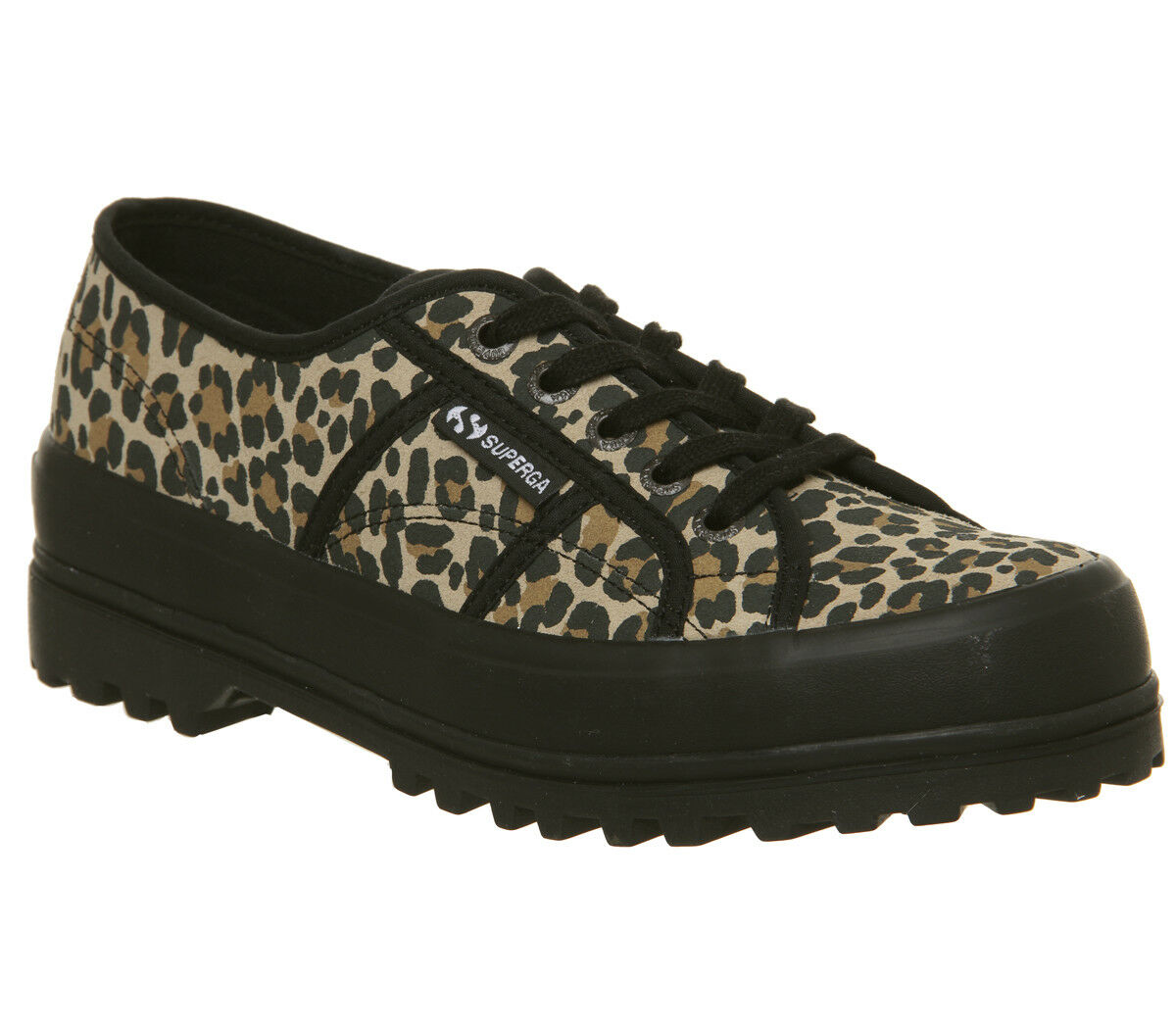damen Superga 2555 Trainers Leopard Exclusive Trainers schuhe