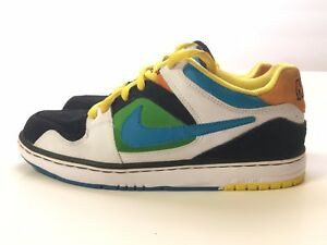 a6db1e7f Nike Air Zoom Oncore 6.0 Size 7 White Black Green Blue Yellow ...
