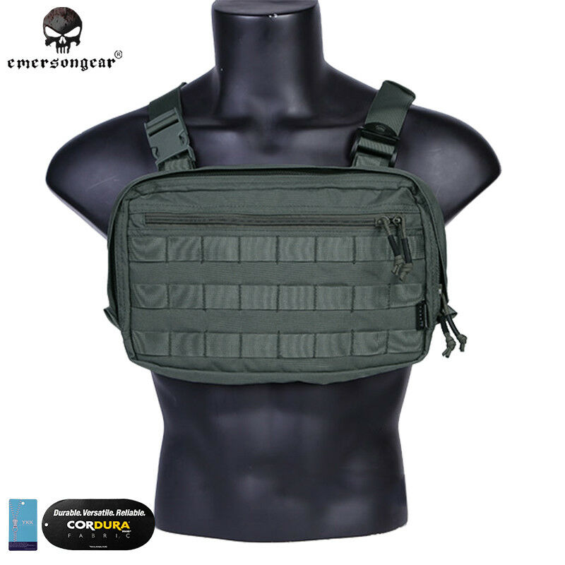 Emerson Tatcical Bag Military Bag Chest Recon Bag Chest  Rig Hunting Camo Airsoft  affordable