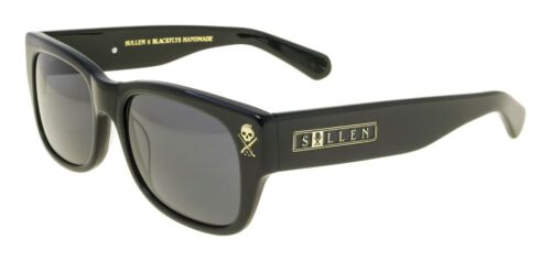 NEW Black Fly Sunglasses SULLEN FLY 2 SHINY BLACK SMOKE LENS LIMITED EDITION