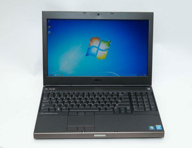 Dell Precision M4800 i7-4800MQ 2.7GHz 16GB 1TB Win 7 NVidia 1080p Gaming Laptop