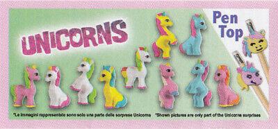 "2019 Zaini minifiguras-Unicorn Series - 3,5 cm//1.5/"" escolha um personagem!"