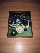 Vintage Seth Thomas Buffalo Sabres Hockey Game Jersey & Puck Wall Clock/Free SH!