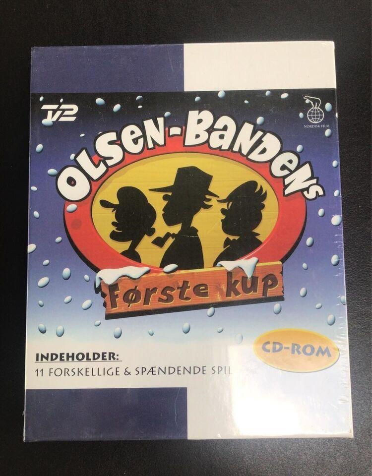 SØRER: Olsen Bandens Første kup CD-ROM i kasse, anden genre
