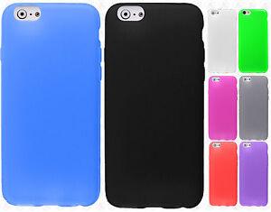 For-Apple-iPhone-6-4-7-TPU-CANDY-Flexi-Gel-Skin-Case-Phone-Cover-Screen-Guard