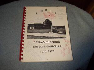 1973-DARTMOUTH-SCHOOL-YEARBOOK-SAN-JOSE-CA
