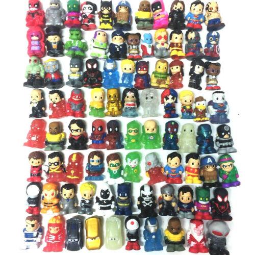 Random Lot 50PCS Ooshies DC Comics Marvel TMNT Pixa Car Batman Joker Toy Gift